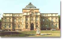 Das Erbgroßherzogliche Palais in Karlsruhe als Sitz des BGH